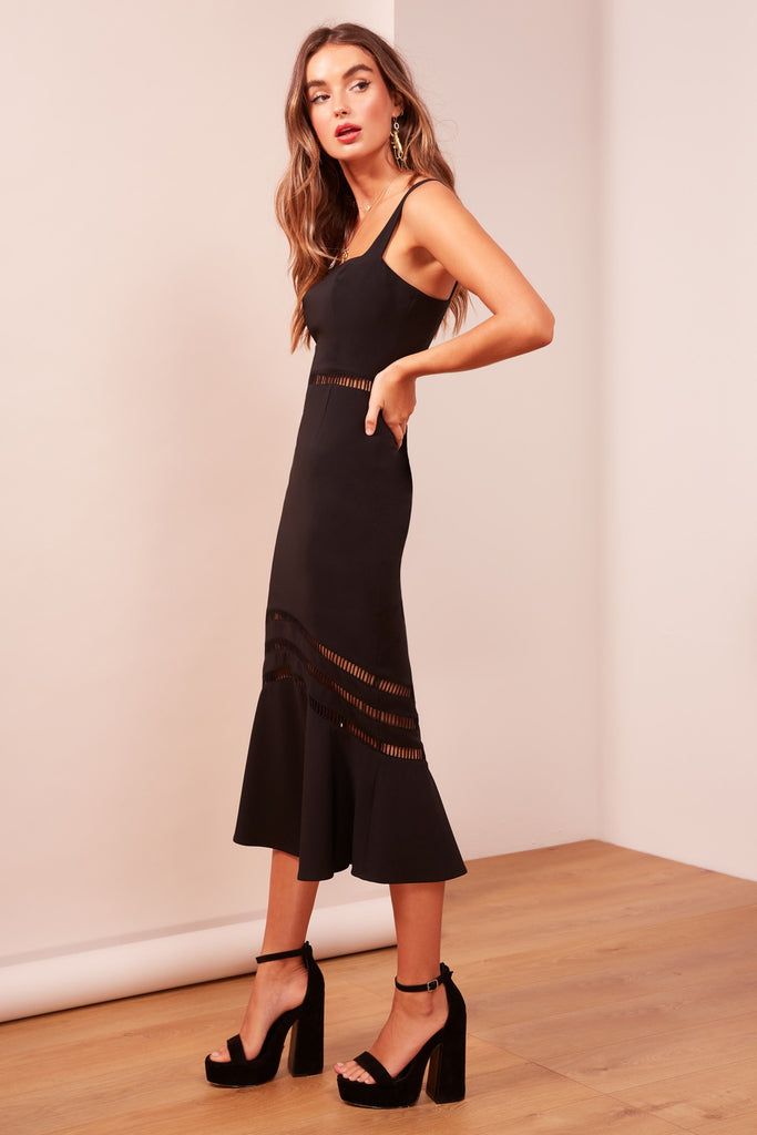 SANGRIA DRESS black