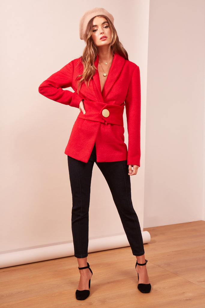 TRACTION COAT red