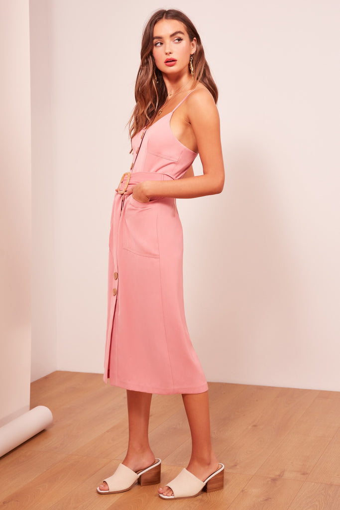 WESTWAY DRESS mauve