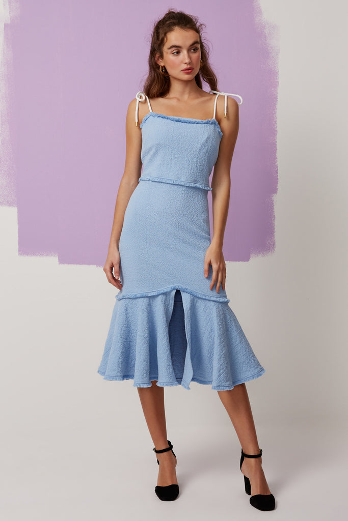 ECHO DRESS pale blue
