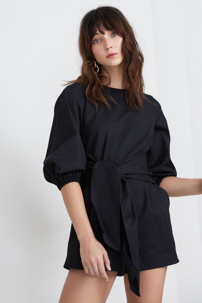 BRIDGES PLAYSUIT black