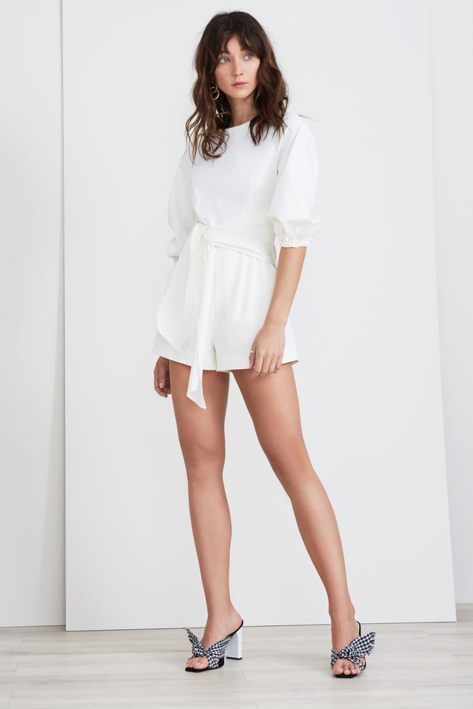 BRIDGES PLAYSUIT ivory