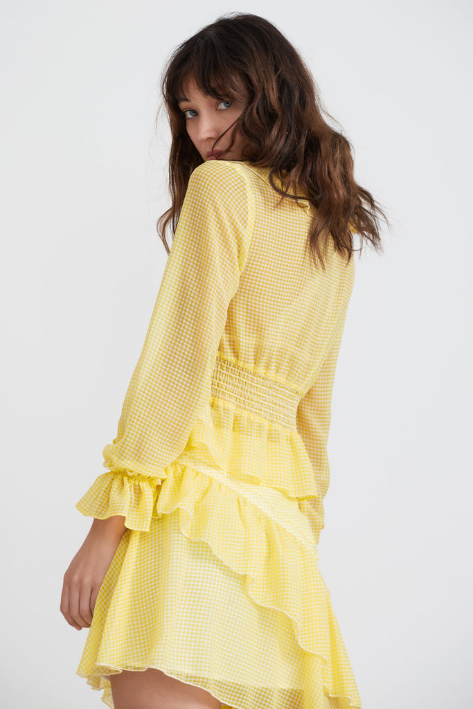 HORIZONS SHIRT lemonade gingham