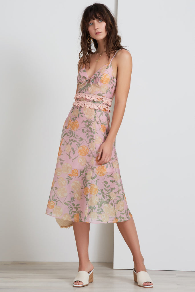 MEADOWS DRESS petal rose