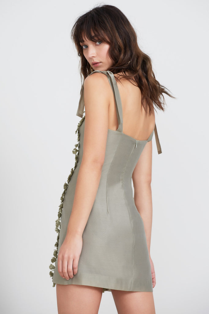 MEADOWS MINI DRESS sage