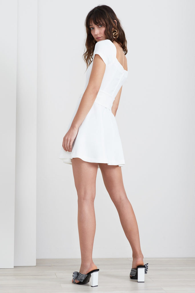 VICE MINI DRESS ivory