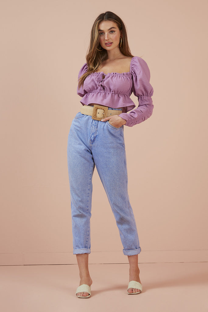 DOLLY TOP mauve