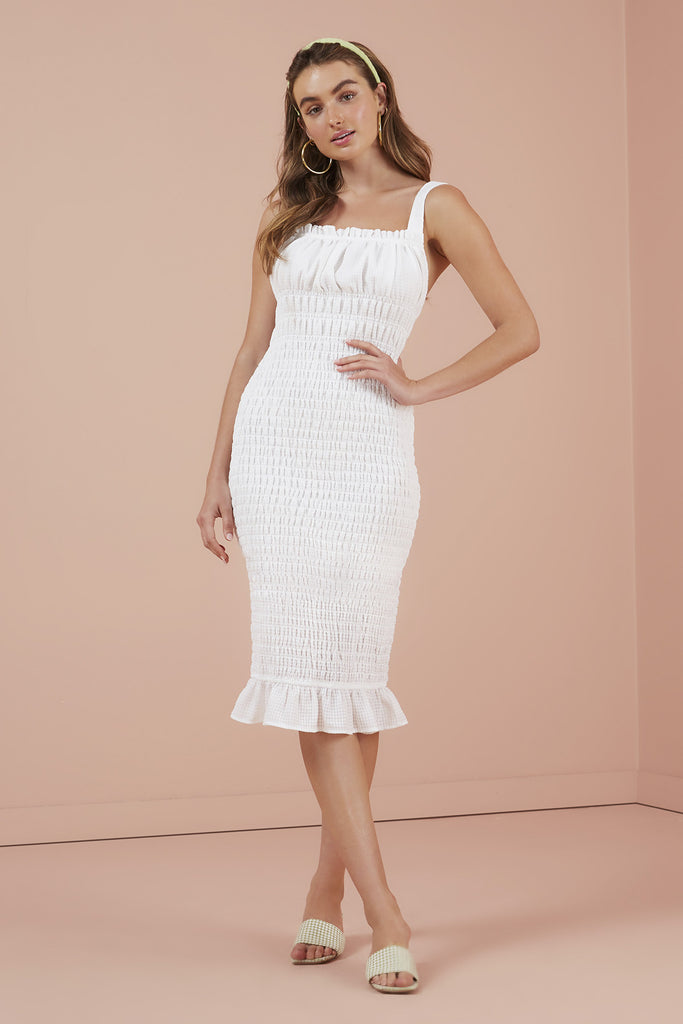 DOLLY DRESS ivory