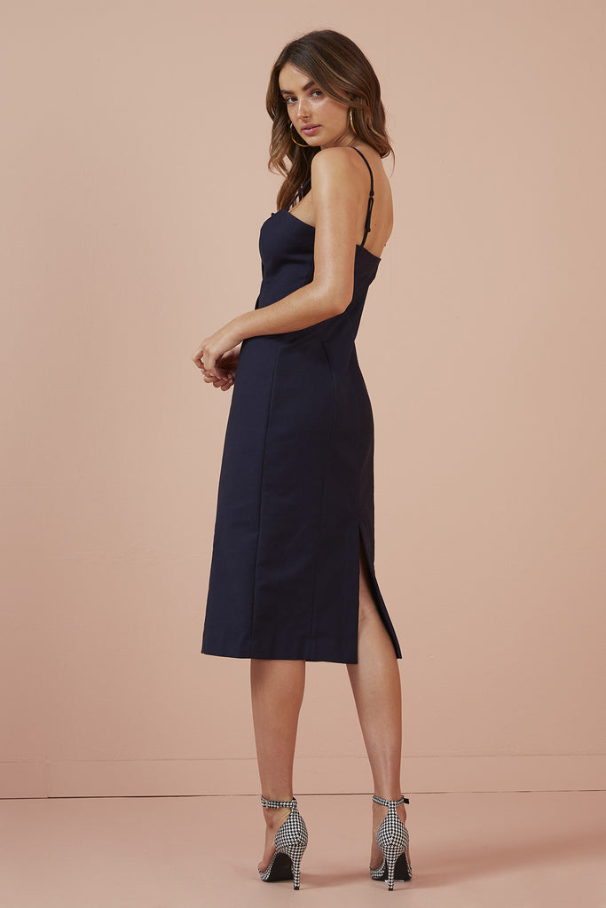 RAE DRESS navy