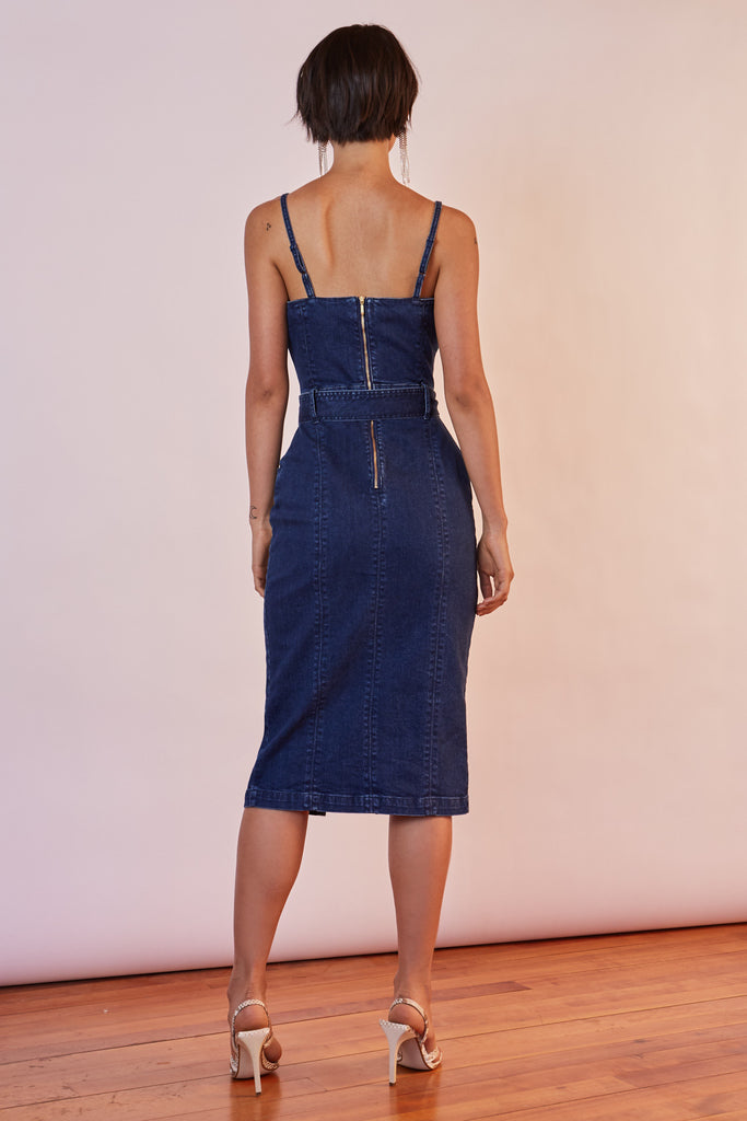 MIAMI DENIM DRESS indigo