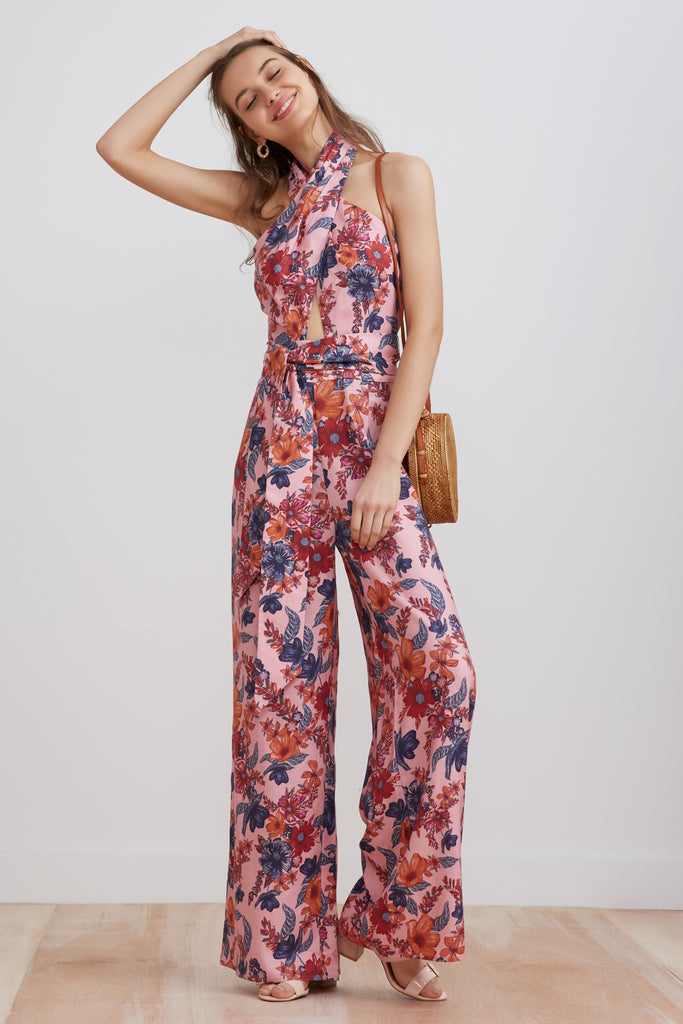 RHAPSODY JUMPSUIT blossom floral