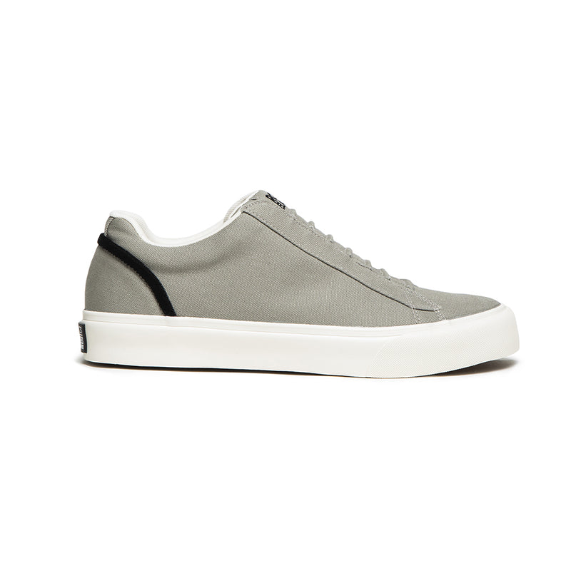 Men's Cruiser Gray Nylon Low Tops 00603-449