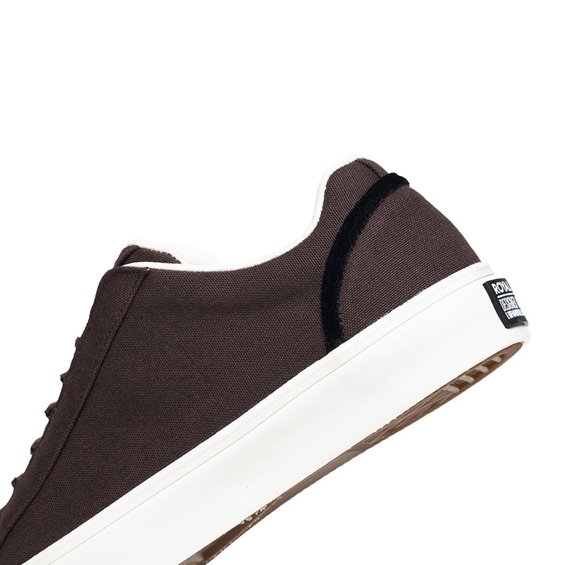 Men's Cruiser Brown Nylon Low Tops 00603-777
