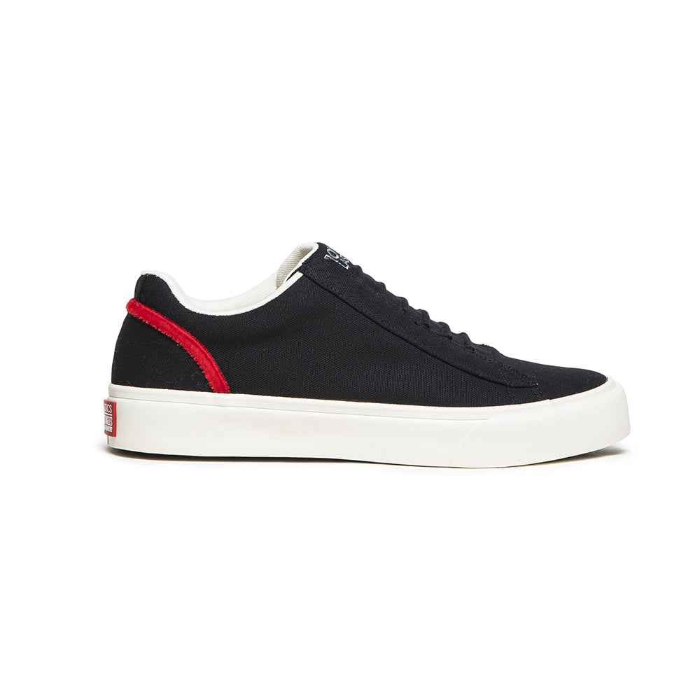 Men's Cruiser Black Nylon Low Tops 00603-991