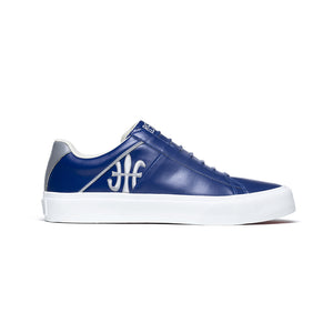 Men's Cruiser White Blue Gray Microfiber Low Tops 00801-558 - ROYAL ELASTICS