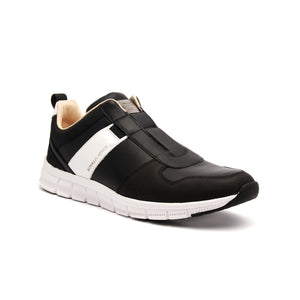 Women's Rider Black White Leather Sneakers 91183-990 - ROYAL ELASTICS