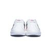 Men's Prince Albert White Leather Sneakers 01402-019