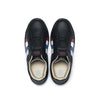 Men's Prince Albert Black Leather Sneakers 01402-915
