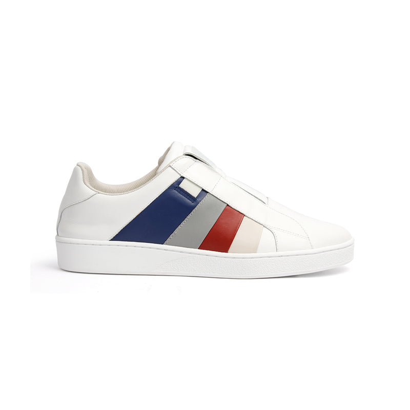 Men's Prince Albert Multicolored Leather Sneakers 01493-015 - ROYAL ELASTICS