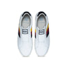 Men's Bishop White Multicolored Leather Sneakers 01701-091 - ROYAL ELASTICS