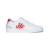 Men's Bishop Hydra White Red Leather Sneakers 01792-019 - ROYAL ELASTICS
