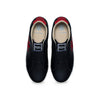 Men's Bishop Hydra Black Red Leather Sneakers 01792-951 - ROYAL ELASTICS