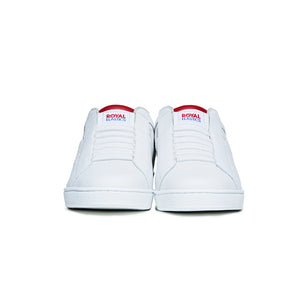 Women's Icon Genesis White Red Leather Sneakers 91902-001