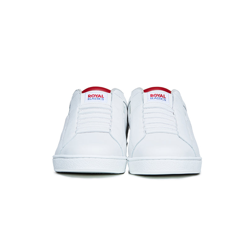Men's Icon Genesis Red White Logo Leather Sneakers 01902-001