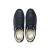 Men's Icon Genesis Black Gold Logo Leather Sneakers 01902-993