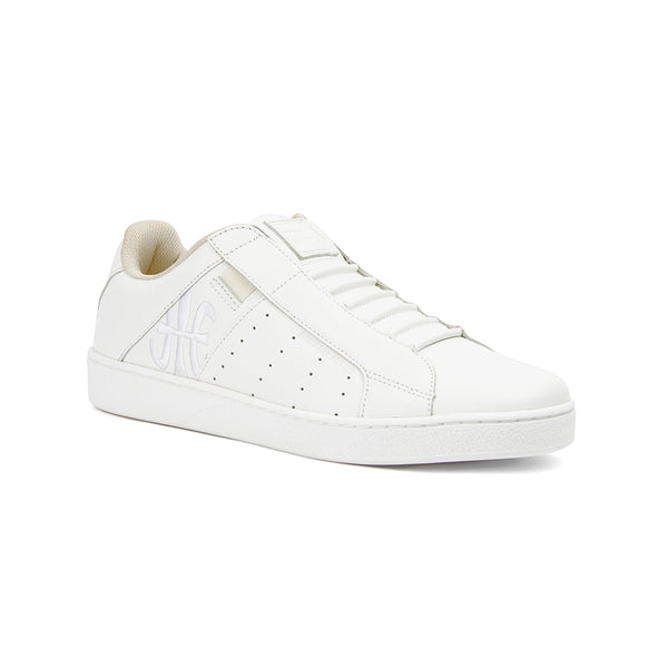 Men's Icon Genesis White Leather Sneakers 01994-000 - ROYAL ELASTICS