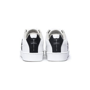Women's Icon Genesis White Black Leather Sneakers 91994-009