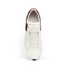 Men's Icon Deejay White Black Red Leather Sneakers 02082-019 - ROYAL ELASTICS