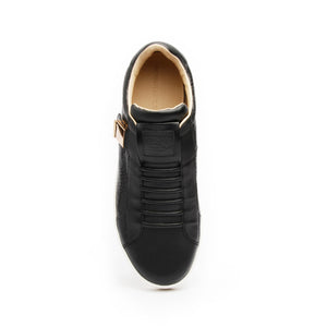 Men's Icon Blazer Black Leather Sneakers 02082-993 - ROYAL ELASTICS