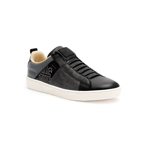 Women's Icon Manhood Black White Leather Sneakers 92091-998 - ROYAL ELASTICS