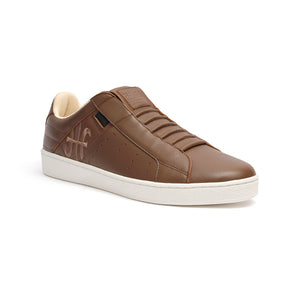 Men's Icon Classic Light Brown Leather Sneakers 02092-707 - ROYAL ELASTICS