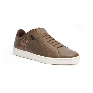 Men's Icon Classic Brown Leather Sneakers 02092-770 - ROYAL ELASTICS