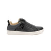 Men's Icon Manhood Black White Leather Sneakers 02093-998 - ROYAL ELASTICS