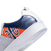 Men's Icon Manhood White Blue Orange Leather Sneakers 02094-025 - ROYAL ELASTICS