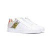 Men's Icon Manhood White Gray Cream Leather Sneakers 02094-082 - ROYAL ELASTICS