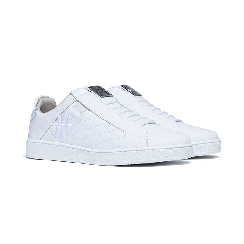 Men's Icon SBI White Leather Sneakers 02501-080 - ROYAL ELASTICS