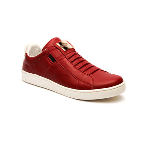Men's Icon SBI Wine Red Leather Sneakers 02584-110 - ROYAL ELASTICS