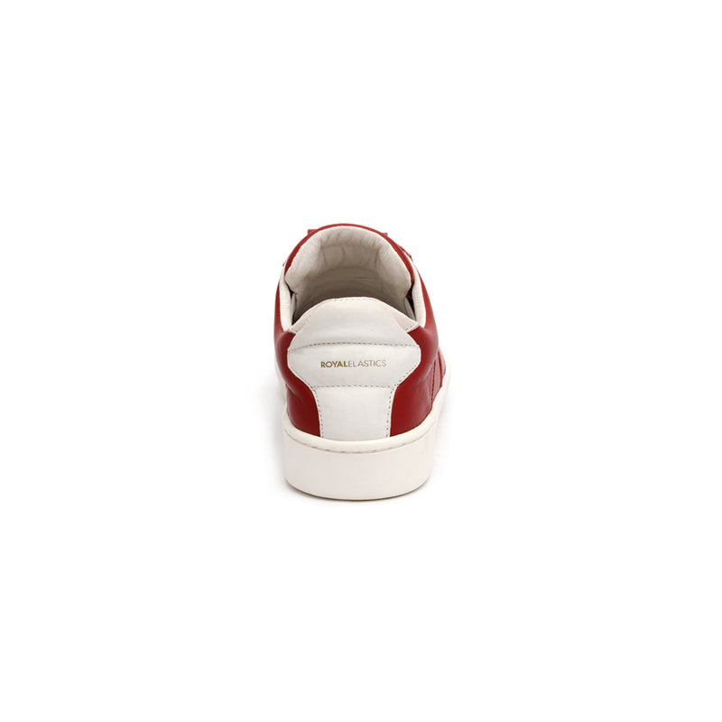 Women's Icon SBI Wine Red Leather Sneakers 92584-110 - ROYAL ELASTICS