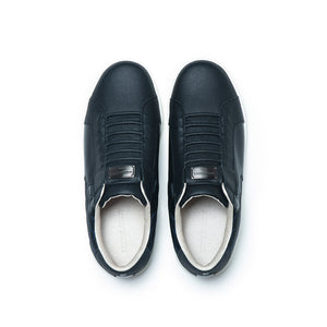 Men's Adelaide Black  Leather Sneakers 02602-999