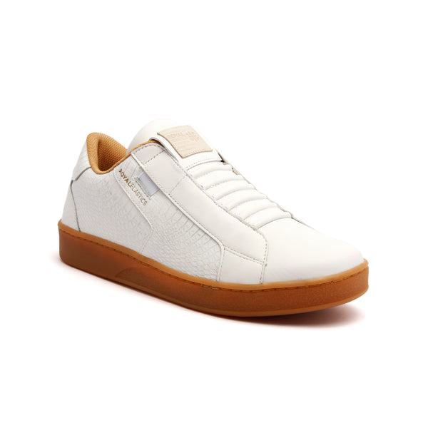 Women's Adelaide White Leather Sneakers 92683-000 - ROYAL ELASTICS