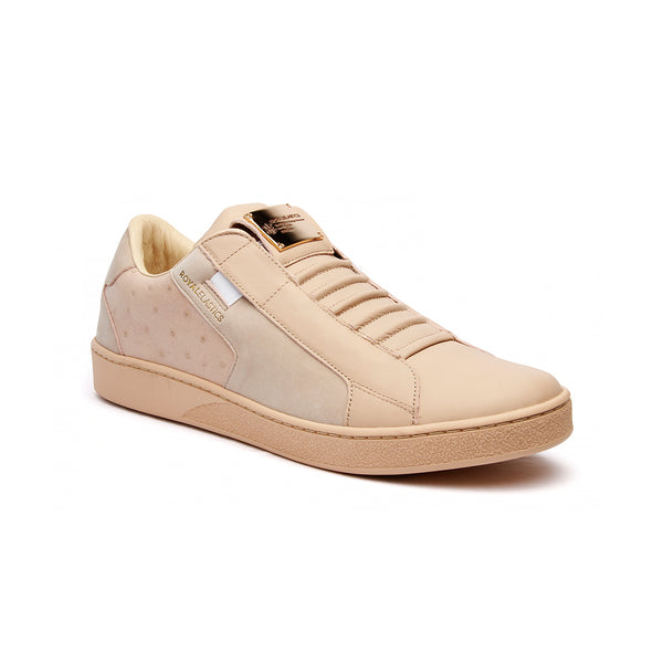 Men's Adelaide Toasted Almond Leather Sneakers 02684-777 - ROYAL ELASTICS