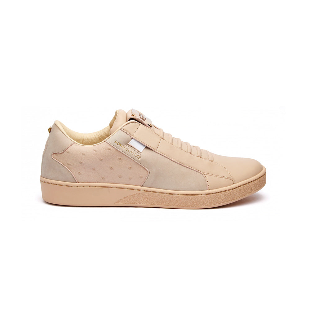 Women's Adelaide Toasted Almond Leather Sneakers - ROYAL ELASTICS
