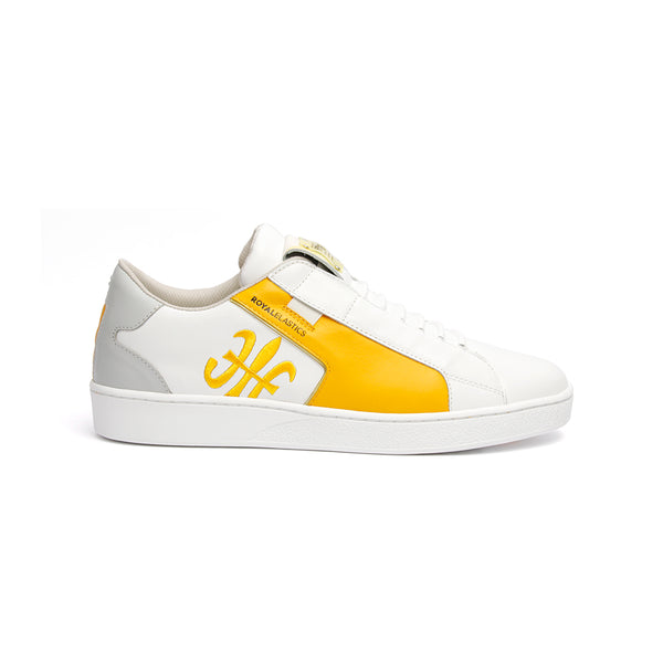 Men's Adelaide Yellow Leather Sneakers 02692-038 - ROYAL ELASTICS
