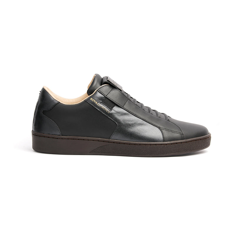 Men's Adelaide Black Leather Sneakers 02693-999