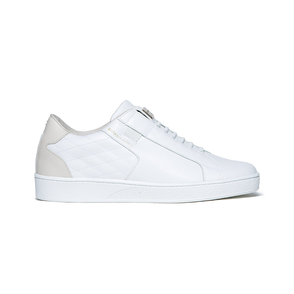 Men's Adelaide Lux White Leather Sneakers 02711-000