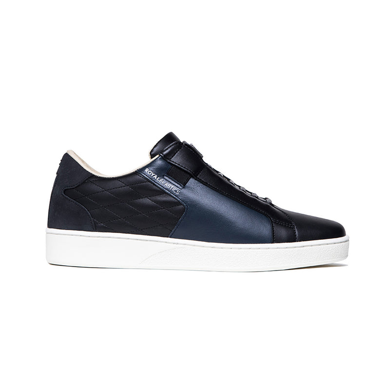 Men's Adelaide Lux Black Leather Sneakers 02711-995